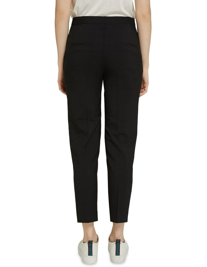 Charla Black Wool Stretch Suit Pants image 3