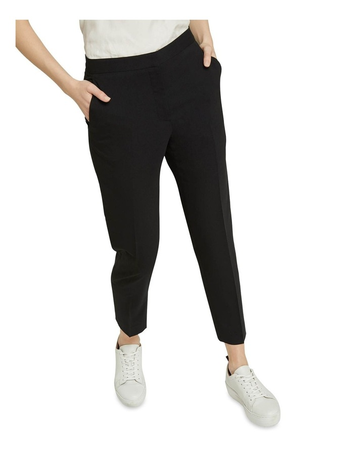 Charla Black Wool Stretch Suit Pants image 4