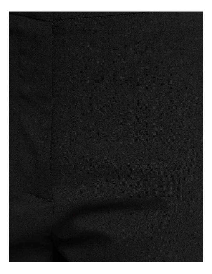 Charla Black Wool Stretch Suit Pants image 6
