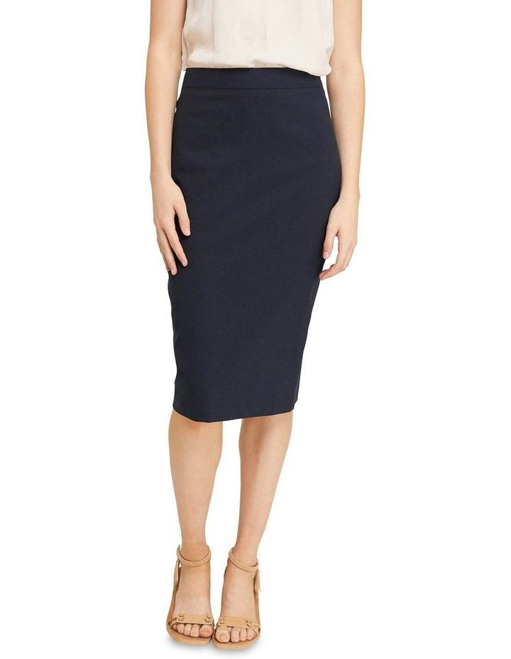 Peggy Wool Stretch Suit Skirt image 1