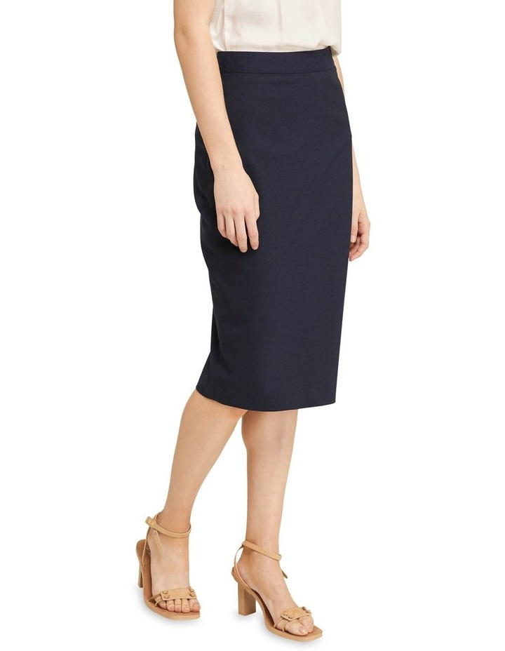 Peggy Wool Stretch Suit Skirt image 2