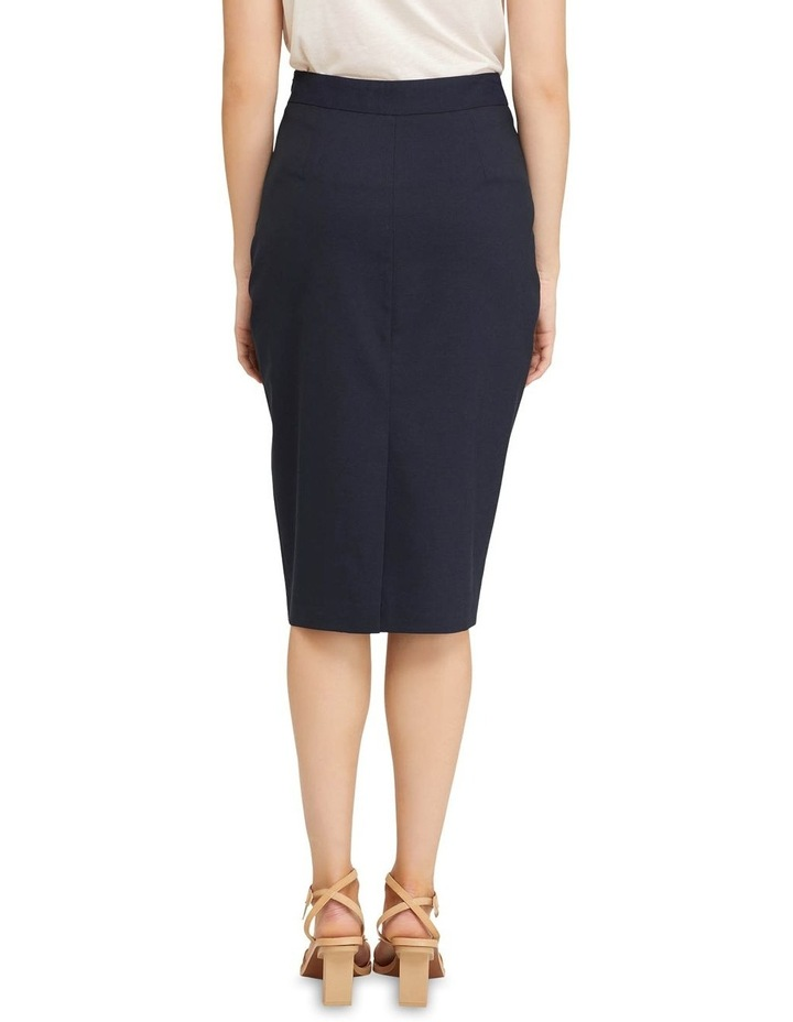 Peggy Wool Stretch Suit Skirt image 3