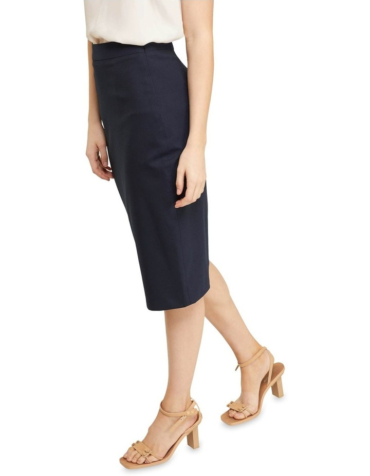 Peggy Wool Stretch Suit Skirt image 4