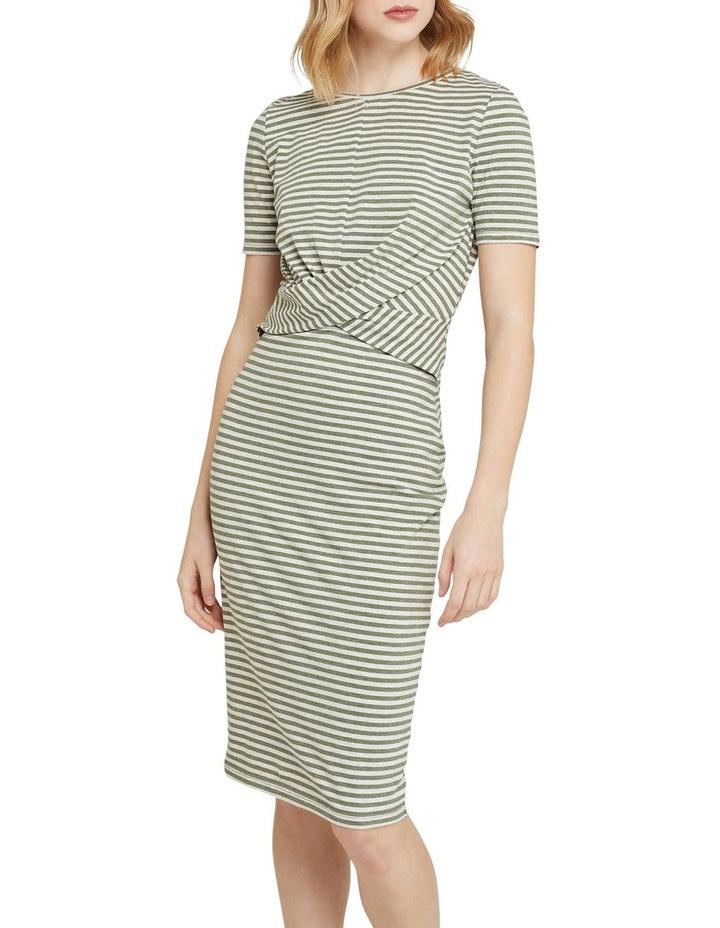 Penny Knit Striped Dress image 1