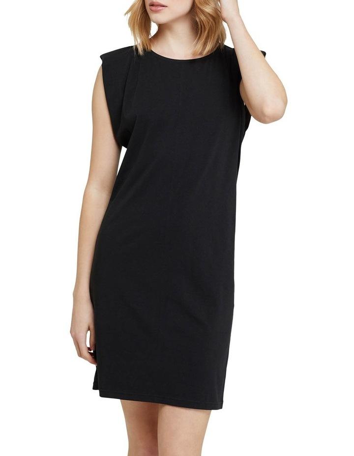 Elodie Jersey Dress W/shoulder Pads image 1