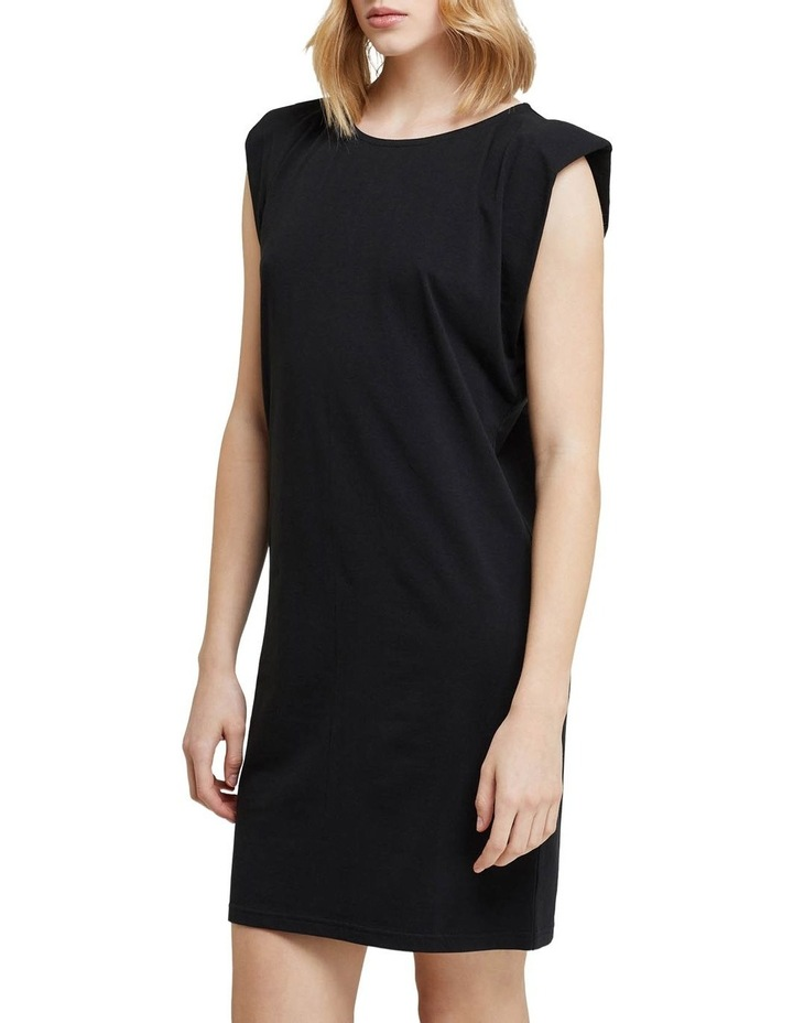 Elodie Jersey Dress W/shoulder Pads image 2