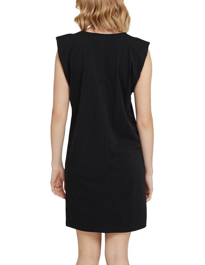 Elodie Jersey Dress W/shoulder Pads image 3