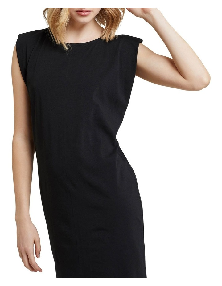 Elodie Jersey Dress W/shoulder Pads image 4