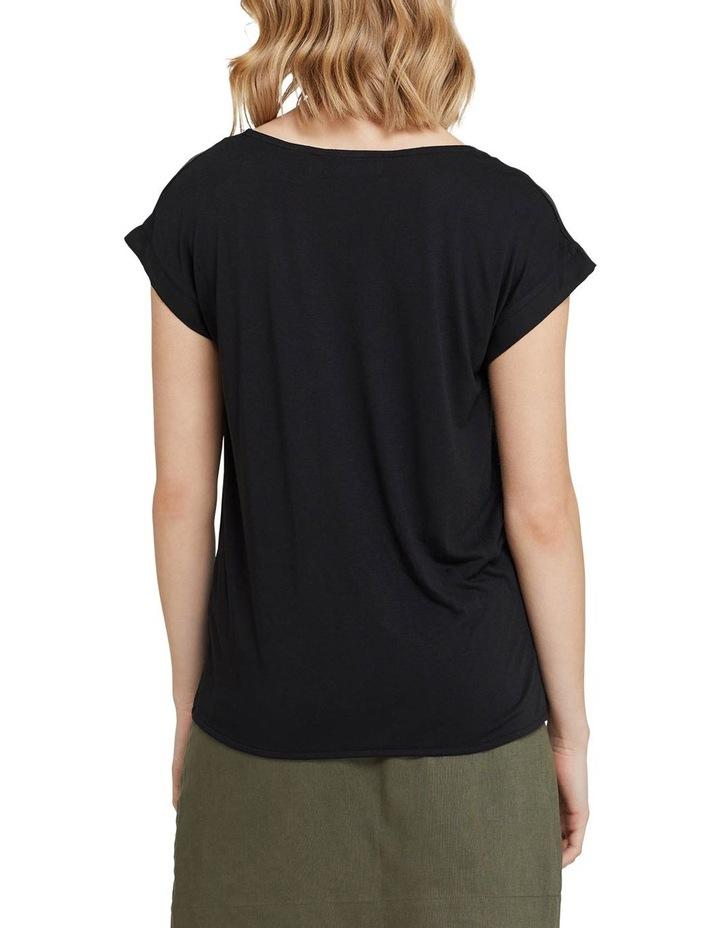 Inga Woven Front T-shirt image 3