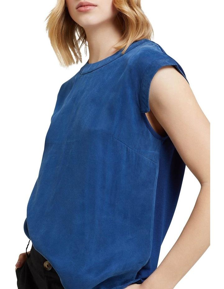 Skylar Woven Front T-shirt image 4