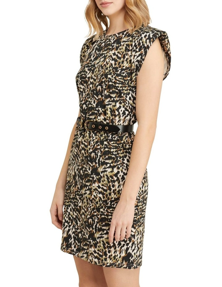 Elodie Animal Printed Jersey Dress image 2