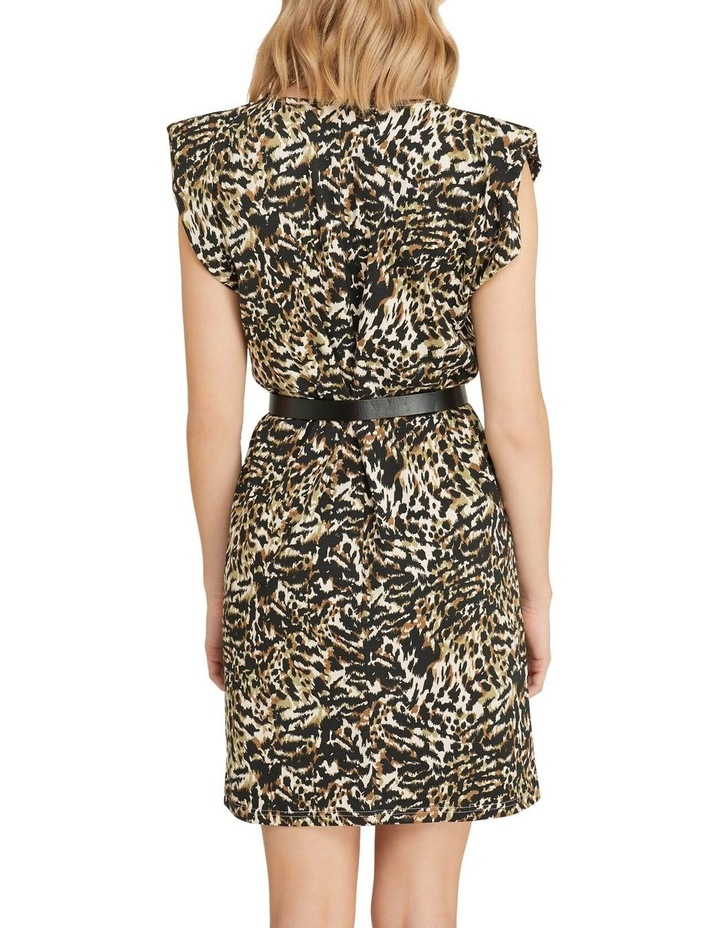 Elodie Animal Printed Jersey Dress image 3