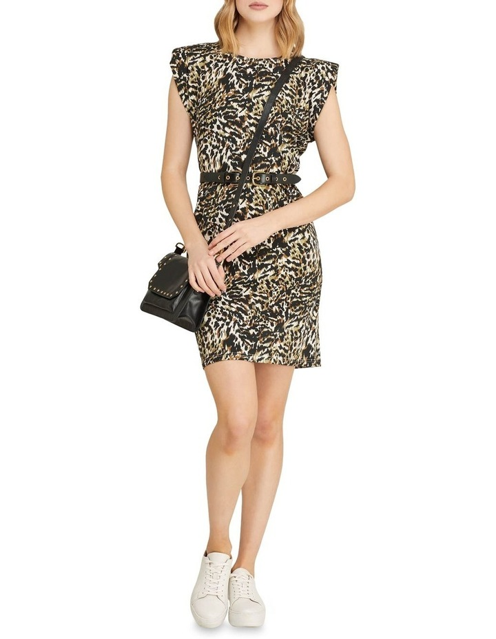 Elodie Animal Printed Jersey Dress image 5