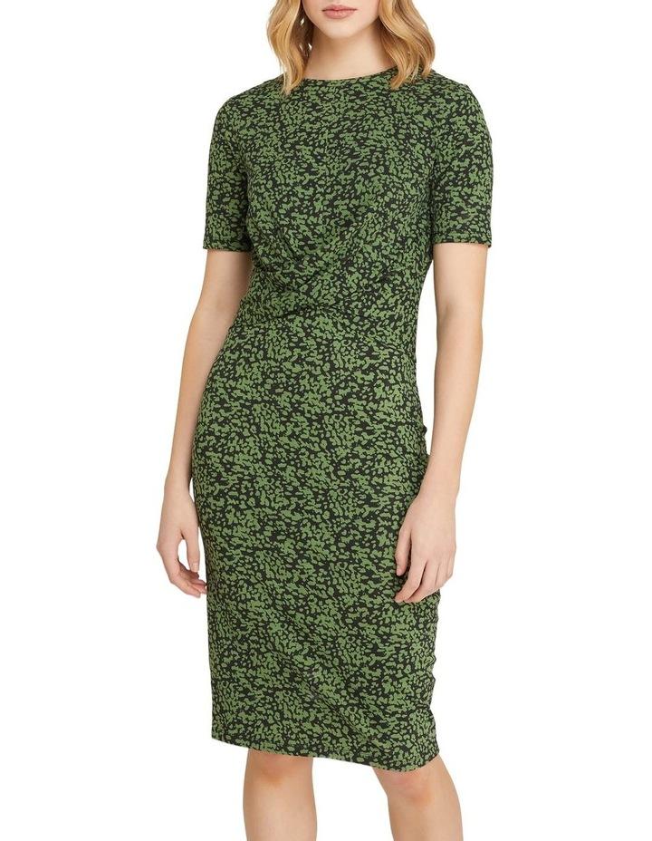 Penny Animal Print Jersey Dress image 1