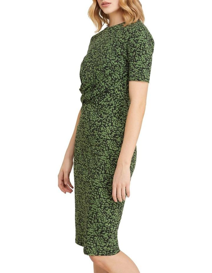 Penny Animal Print Jersey Dress image 2