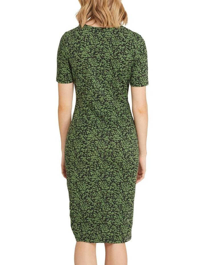 Penny Animal Print Jersey Dress image 3