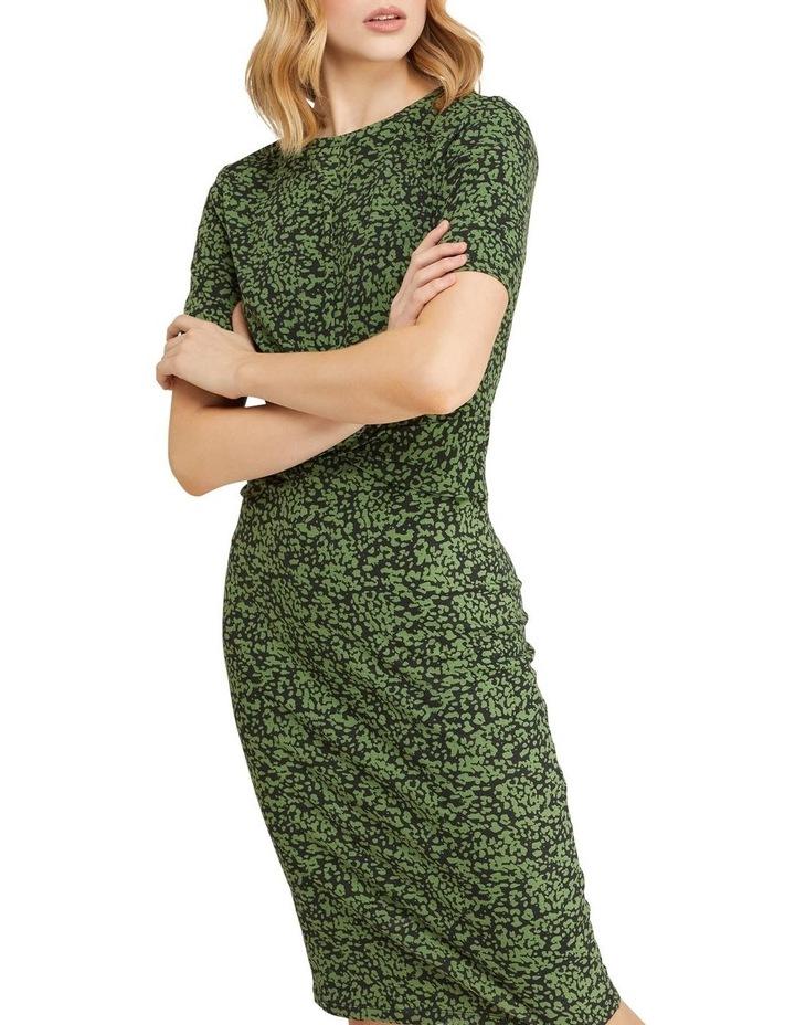 Penny Animal Print Jersey Dress image 4