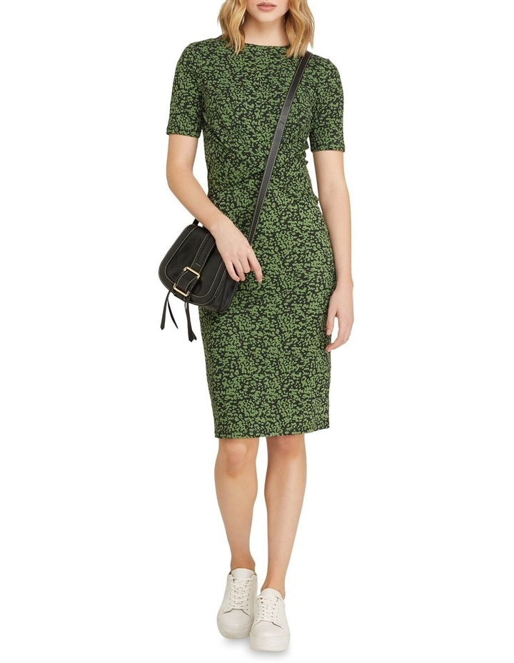 Penny Animal Print Jersey Dress image 5