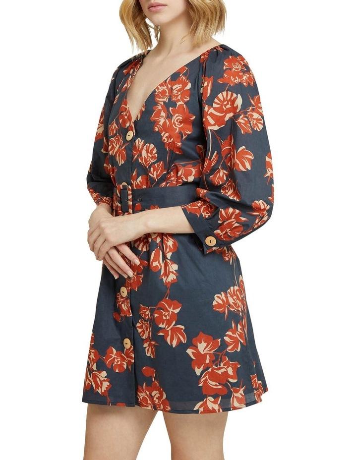 Peony Tropical Print Dress image 2