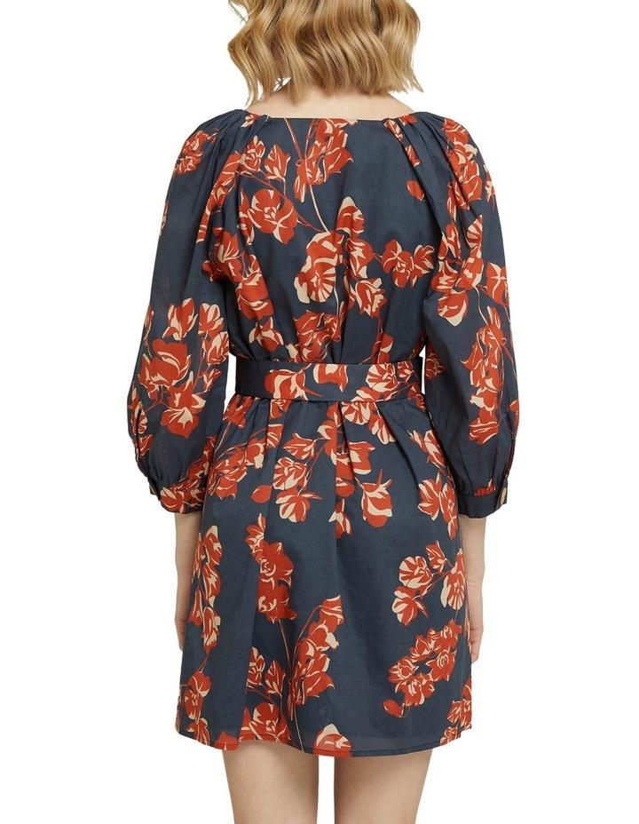 Peony Tropical Print Dress image 3