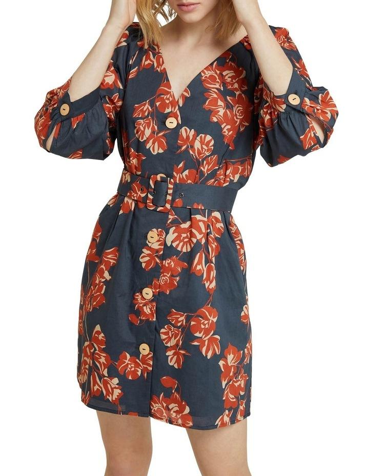 Peony Tropical Print Dress image 4