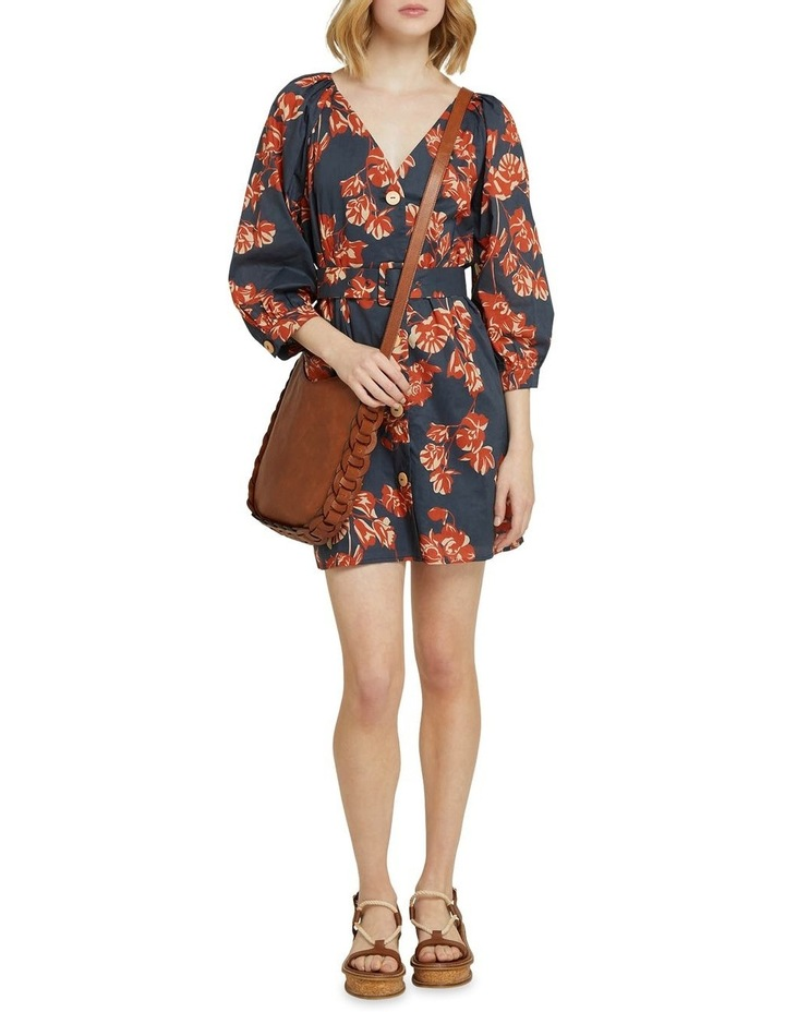 Peony Tropical Print Dress image 5
