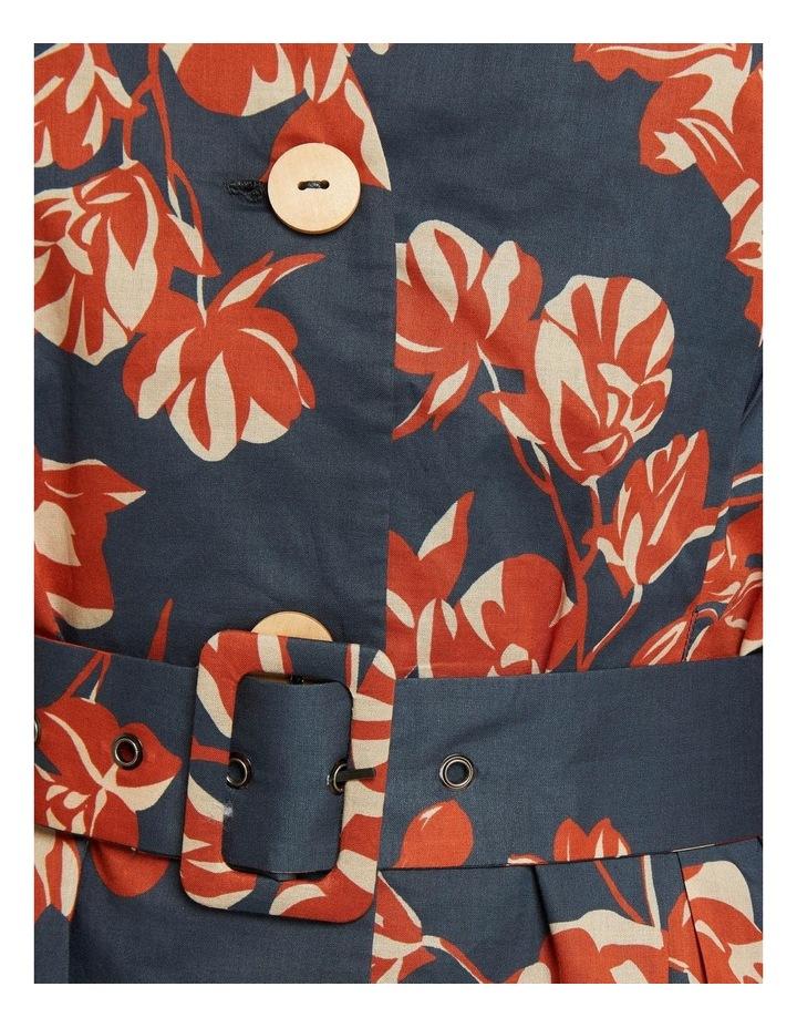 Peony Tropical Print Dress image 6