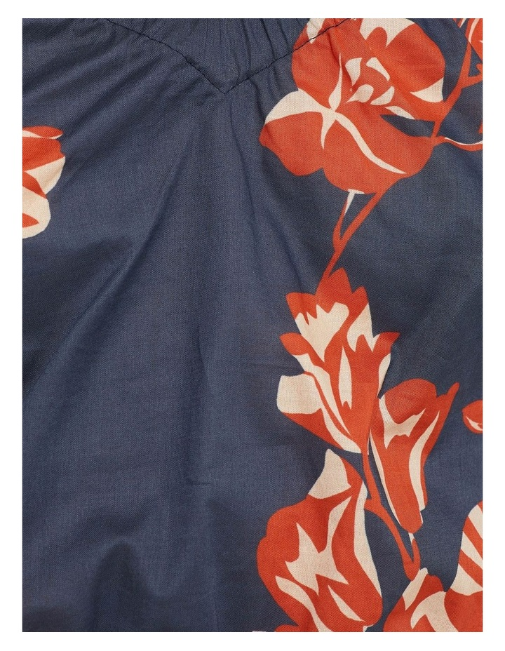 Billy Tropical Print Cotton Top image 6