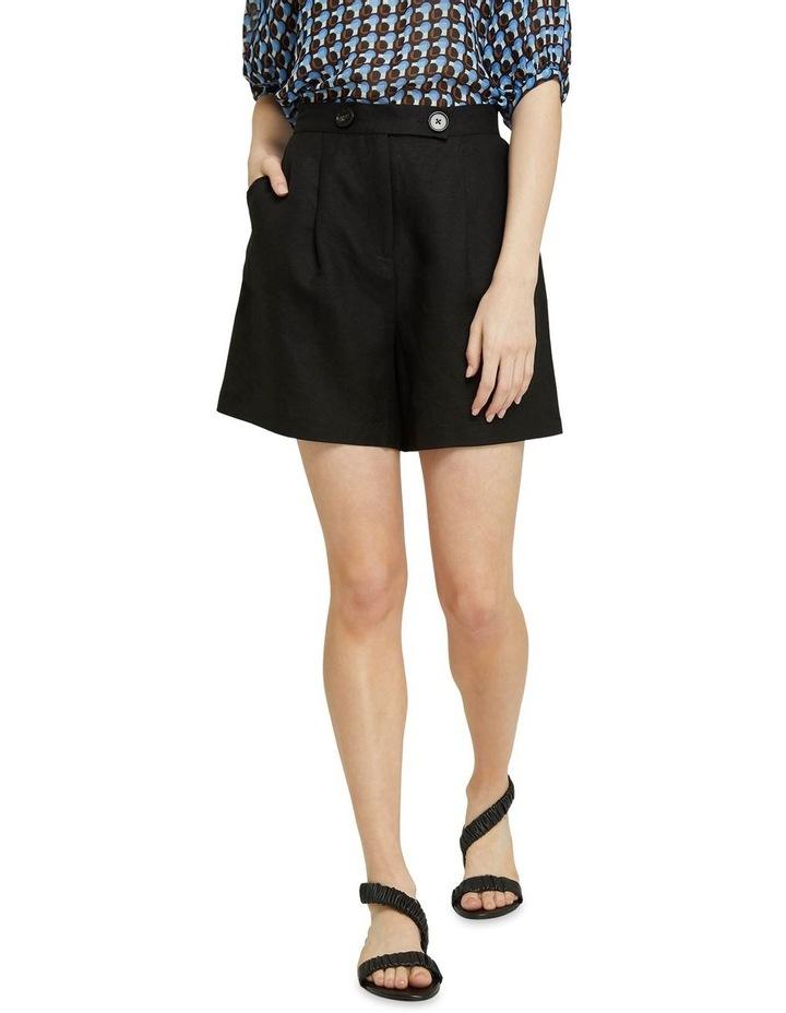Sasha Linen Blend Shorts image 1