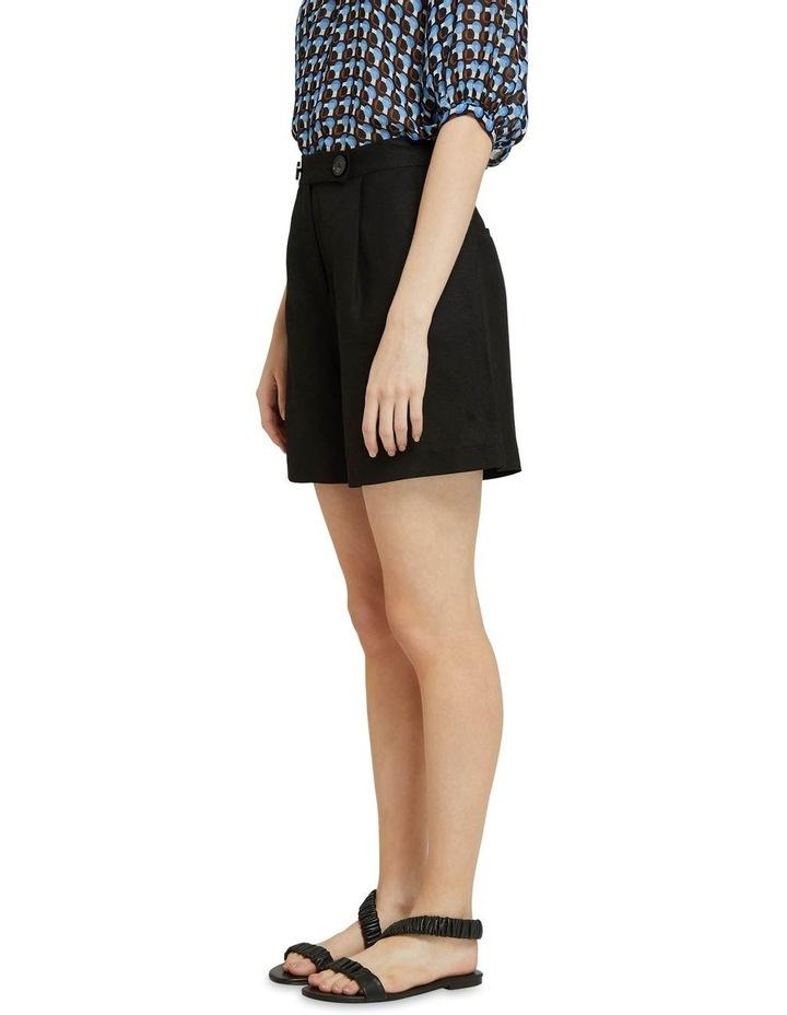 Sasha Linen Blend Shorts image 2
