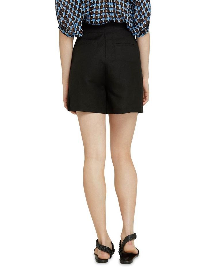 Sasha Linen Blend Shorts image 3