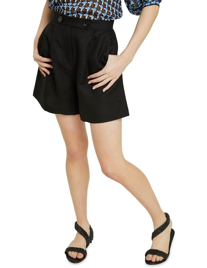 Sasha Linen Blend Shorts image 4