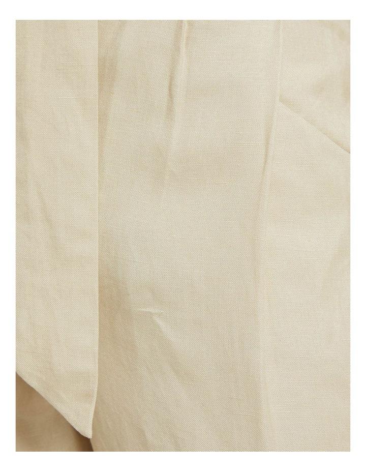 Ariel Linen Blend Crop Pants image 6