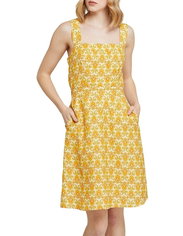 Tali Printed Linen Dress image 1
