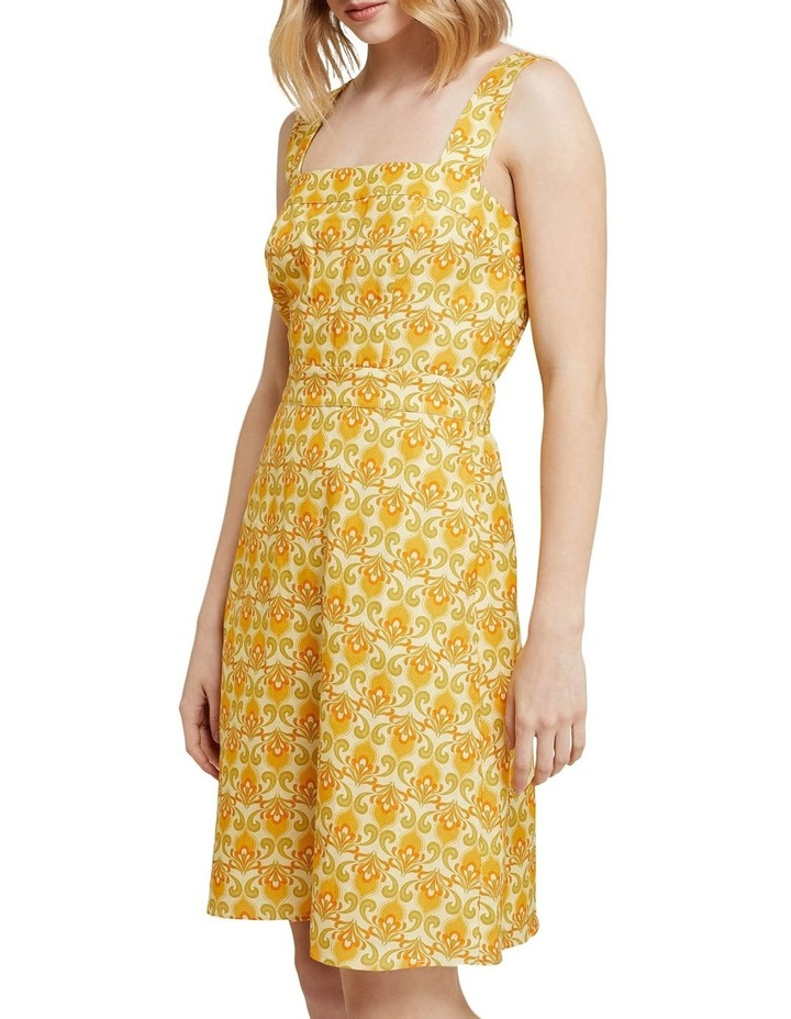 Tali Printed Linen Dress image 2