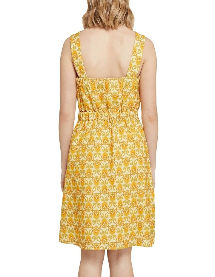 Tali Printed Linen Dress image 3