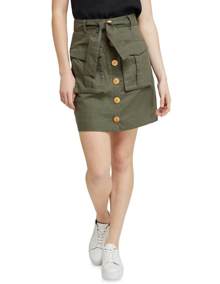 Izzy Button Through Skirt image 1