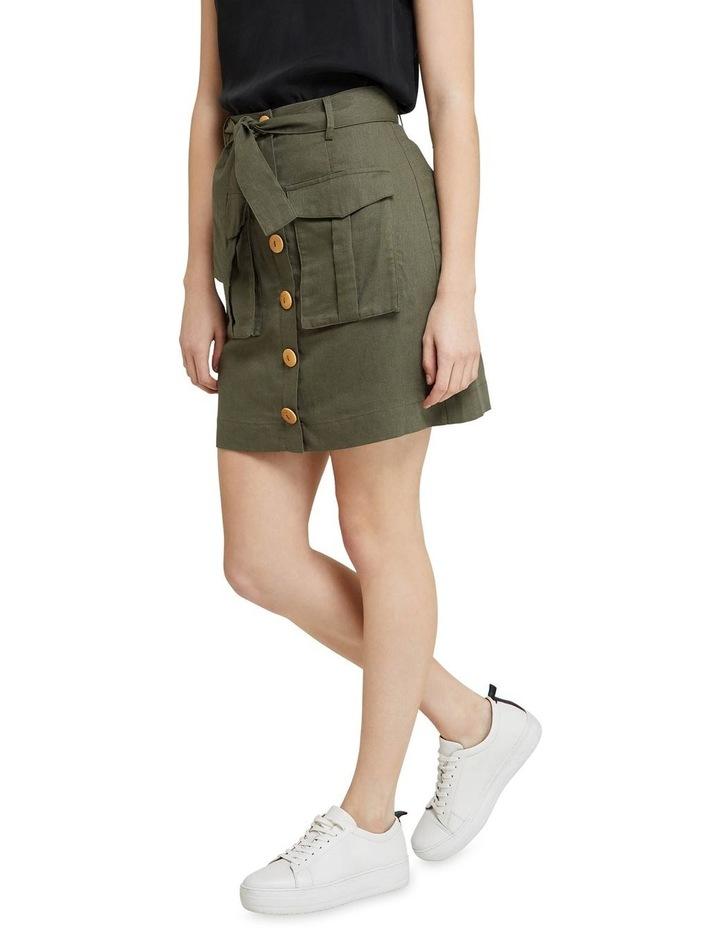 Izzy Button Through Skirt image 2