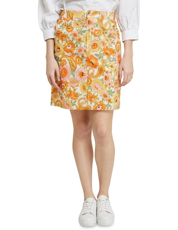 Tito Retro Floral Skirt image 1