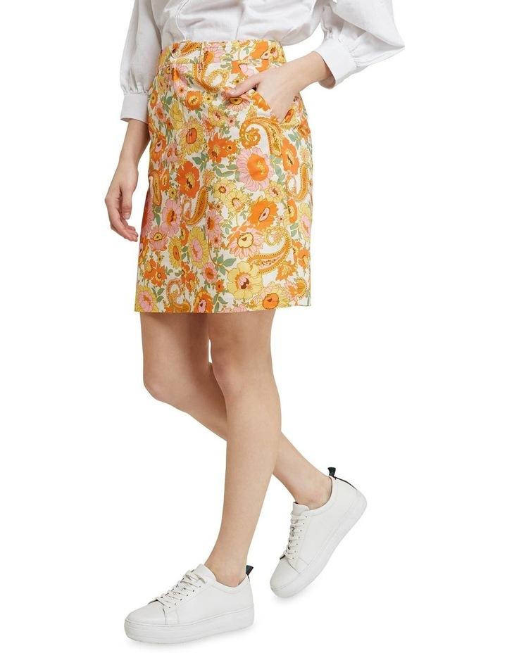 Tito Retro Floral Skirt image 2