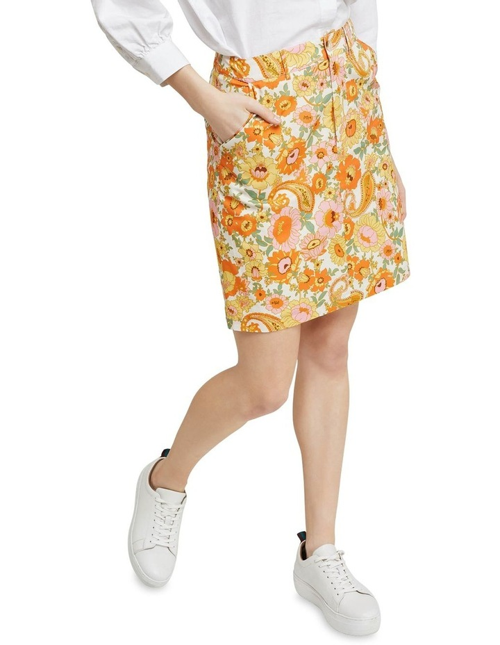 Tito Retro Floral Skirt image 4