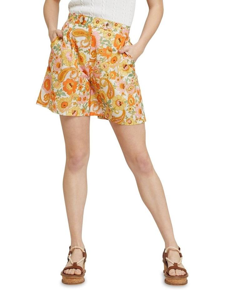 Sasha Retro Floral Shorts image 1