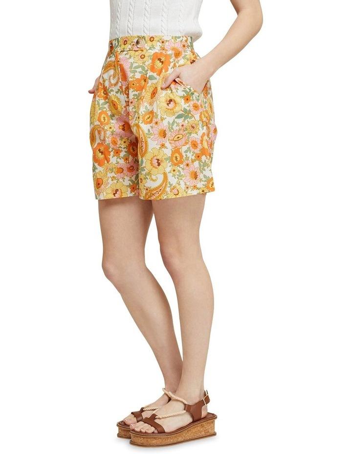 Sasha Retro Floral Shorts image 2