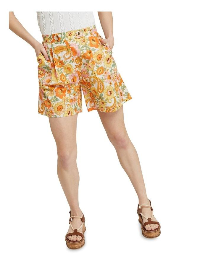 Sasha Retro Floral Shorts image 4