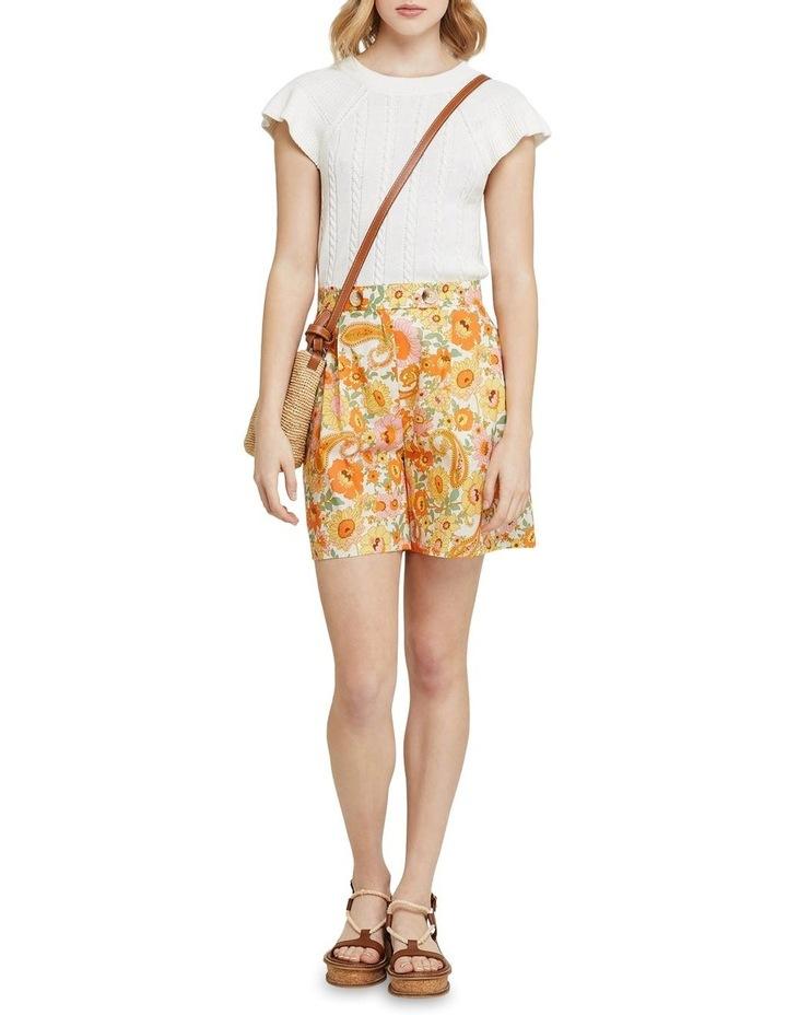 Sasha Retro Floral Shorts image 5