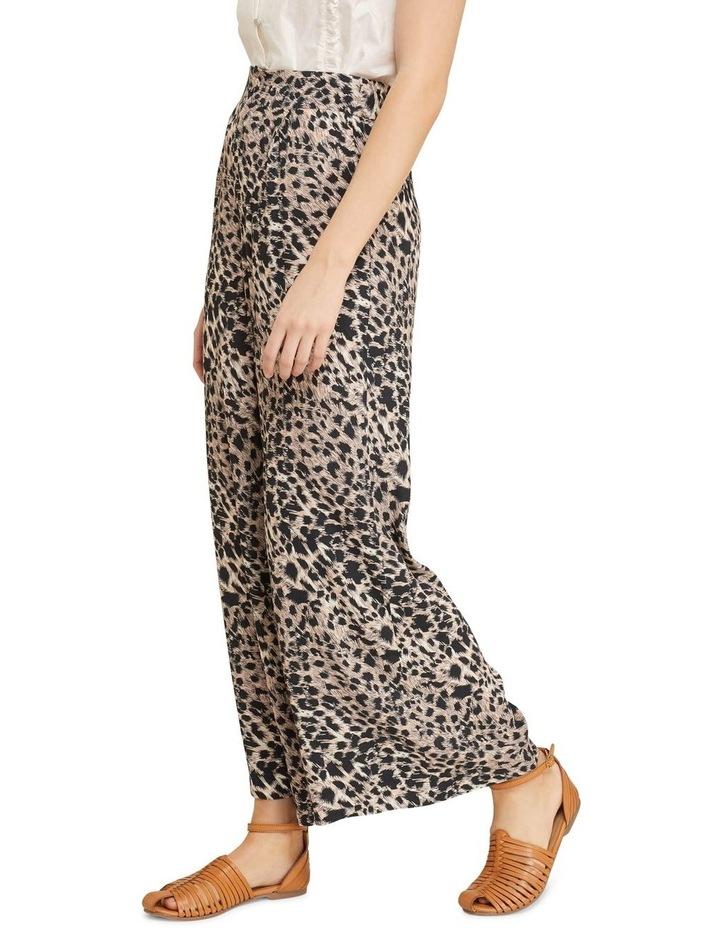 Kitty Wide Leg Animal Print Pants image 2
