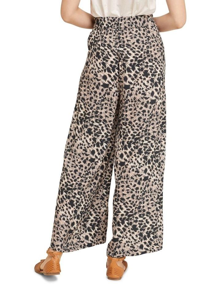 Kitty Wide Leg Animal Print Pants image 3