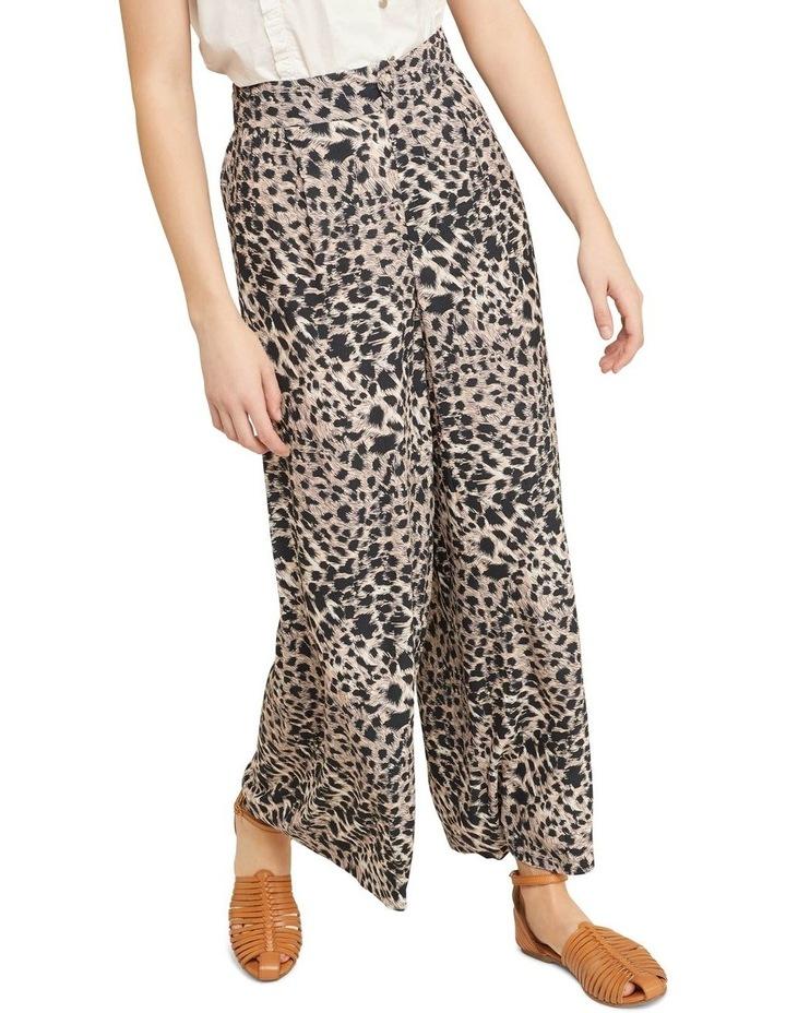 Kitty Wide Leg Animal Print Pants image 4