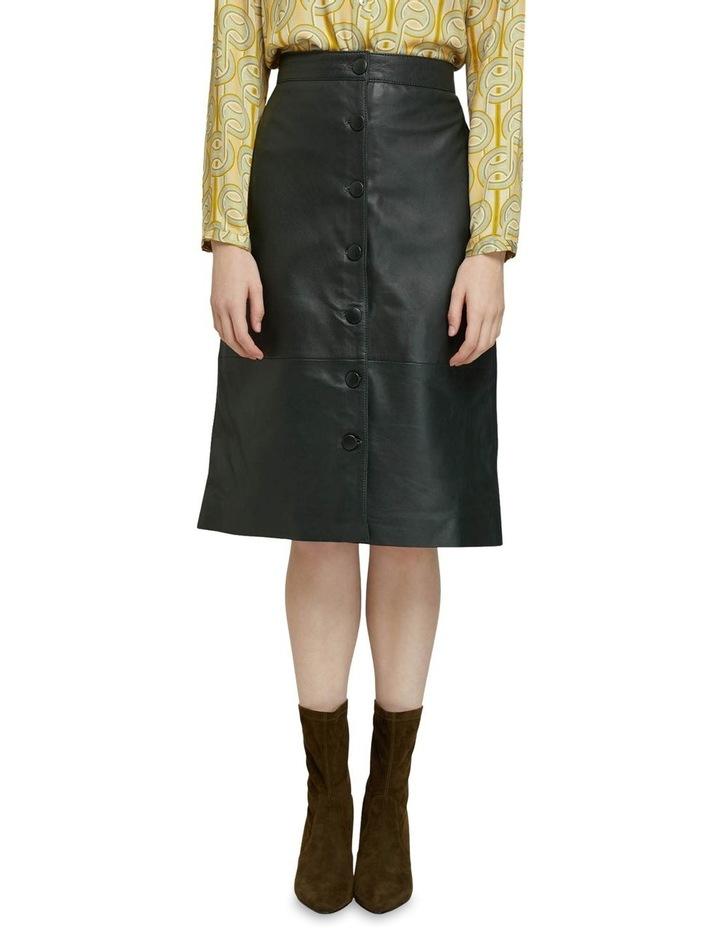 Gigi Leather Skirt image 1