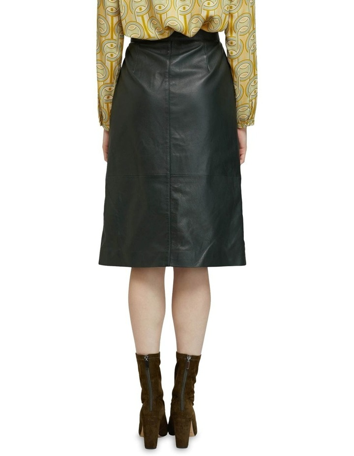 Gigi Leather Skirt image 3